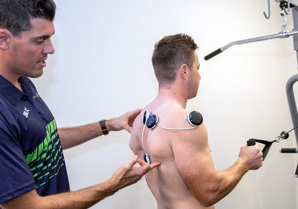 electrical muscle stimulation - compex unit