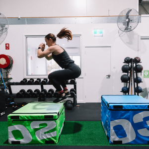 strength and agility training