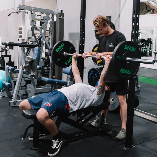 weight lifting supervised training
