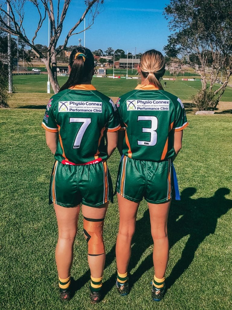 Ladies League Tag jersey sponsors for 2020
