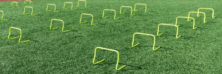 mini hurdles training
